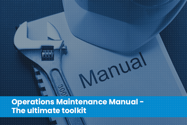 Building Operation and Maintenance Manual